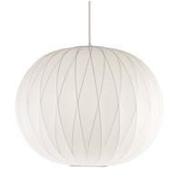 Nelson Crisscross Ball Pendant Lamp Vintage Silk Pendant lights Suspension Dining room Lighting Fixture Free shipping PL209-3