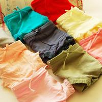 Solid low-waist briefs bamboo fiber Ms soft cotton bow light board Modal briefs Women's Panties