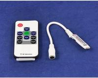 DC5V-24V 12A Output Current, Brightness Adjust Single Color Mini LED Controller With Power Supply Socket for LED Strip