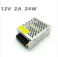 12V 2A 24w Switching led Power Supply non-waterproof led driver for indoor for 3528/5050 LED strips free shipping