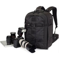 "Lowepro Pro Runner 450 AW Photo Camera Bag Digital SLR Backpack laptop 17"" with All Weather Cover"