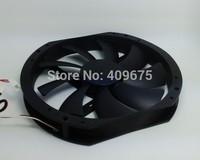 Ultralarge 23cm cooler master computer case fan quieten black tornado