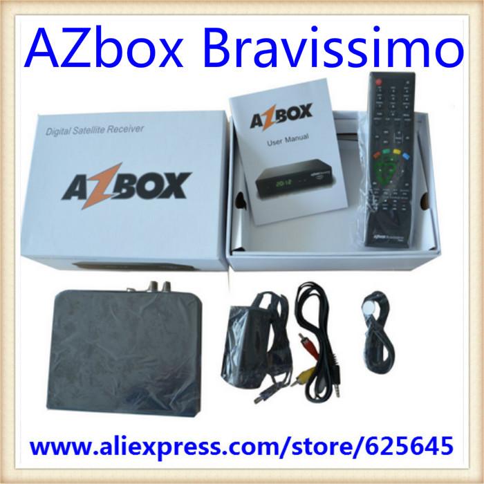 Free shipping Azbox Bravissimo HD for South America(China (Mainland))