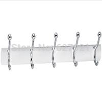 Aluminum sheet aluminum  row hook single hangers bathroom row door hook