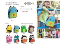 11 Hot Design Muti-Function Baby Children Insulated Lunch Bag Cute Animal Lunch Box Kid Boy Girl Bags 200pcs/lot