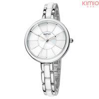 2014 Real Relojes Para Mujer Ladies Watch Waterproof Free Shipping Brand Logo Elegant Stainless Steel Girl's Fashion Clock Women