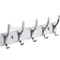 Aluminum sheet aluminum alloy hook row hook hangers bathroom row hook door hook