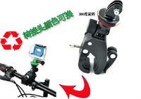 Go Pro Bike Bicycle Handlebar Mount Holder Big Size 360 For Gopro Hero 3 Hero Camera Tripod Mount Binoculars For SUPTig HD Black
