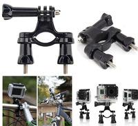 Go pro Bike Bicycle Sports Handlebar Mount Seatpost Pipe Rack Roll Bar Mounting for Gopro Camera HD Hero3 Hero2 Hero Balck
