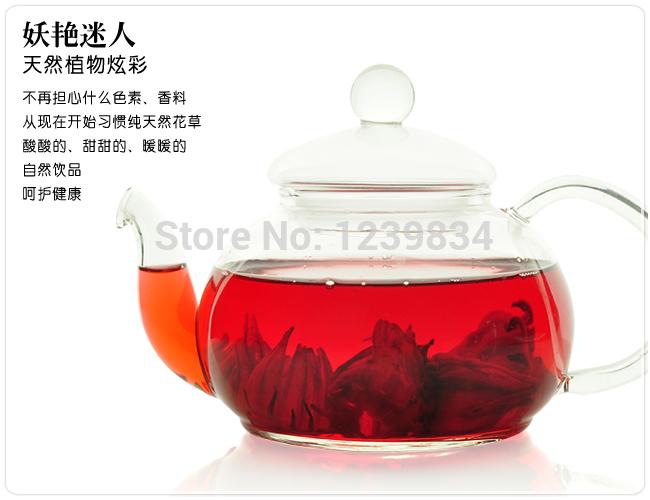 100 g Roselle thé, Thé d'hibiscus, Fleurs naturelles thé, Livraison gratuite(China (Mainland))