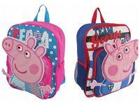 1pcs retail Peppa pig backpack  children  School Bags  #26589