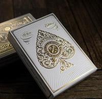 White Artisan Deck Playing Cards Top Grade Poker New Playing Card Magic Card