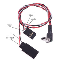 FPV Mini Gopro 3 USB Video Realtime Output Cable Gopro AV Cable ,TL68A00 Tarot