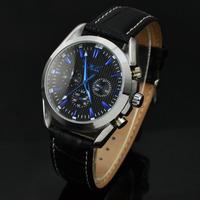 Brand Jaragar Genuine 6 Hands Multifunctional Leather Band Automatic Mechanical Watch Men Dress Wristwatch Watch High Quality