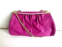 Mango women's handbag 2014 new shoulder bag day clutch bag mango lock  folds bag