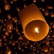 popular heart sky lantern