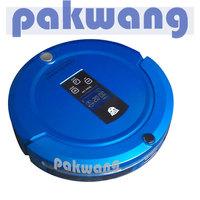 Robot vacuum cleaner with UV light mop recharging