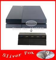 2014 New 5 Port (1 USB 3.0 + 4 USB 2.0) USB Hub Extension Expansion Adapter Splitter for Sony PlayStation 4 PS4 & PS4 Slim