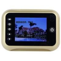 3.5'' TFT LCD High Definition IR Night Vision 120 Wide degree angles Digital Door Peephole Viewer Visual Doorbell F4116Z