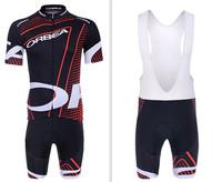 2014 ORBEA team cycling clothing +cycling bib shorts set new 2014 ORBEA cycling clothing/jersey bib shorts