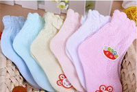 Exempt postage manufacturer wholesale candy color more color cotton children thin mesh baby socks