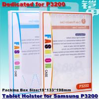 1000pcs!19*133*198mm PVC Tablet Case Shell Holster Retail Box High-grade Packaging Display Box for Samsung P3200 Dedicated KJ-95