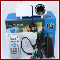 "Multimedia Single-chip LCD technology MINI projector 60"" Cinema Theater, PC Laptop VGA Input UC28+(SD / USB / AV / VGA /HDMI)"