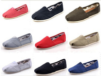 Best sale 2014  women and men canvas shoes fashion loafers flat shoes women espadrille sneakers Unisex Slip shoes free shipping