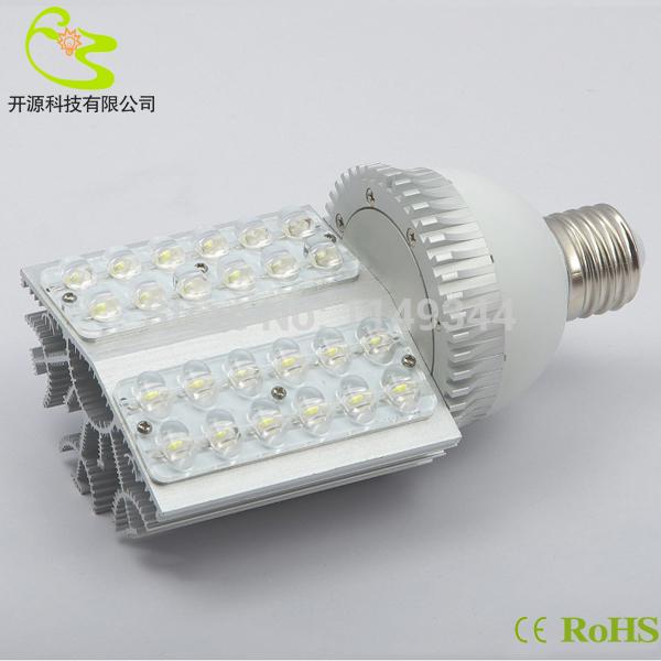 2pcs/lot fedex free shiping E27 E40 led street light 24w high power outdoor lighting 85-265v 2160lm led corn street lamp 24w(China (Mainland))
