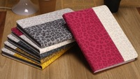 Fashion Leopard Pattern Contrast Color Leather Case for Apple ipad 5 Air for ipad 2/3/4, Super Thin Case for ipad Mini/Mini 2