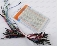 10set  Prototype board Electronic deck + 65pcs Breadboard tie line Wire cable