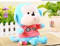 2014 19cm lovely  plush toys  Creative Big mouth monkey  Creative cute cartoon plush toys