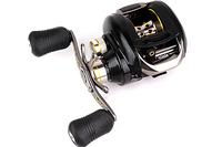 Free shipping High Quality Bait Casting fishing reel D2-WOC12R 12BB 0.35MM-140M Black Right hand