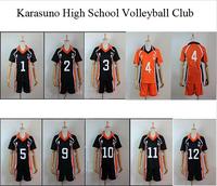 Haikyuu !! Cosplay Costume Karasuno High School Volleyball Club Hinata Shyouyou Sportswear Jerseys Uniform Free Shipping