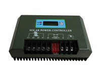 JN manufactory New Middle size 3000w LED&LCD  display 48/50A metal Solar power Controller