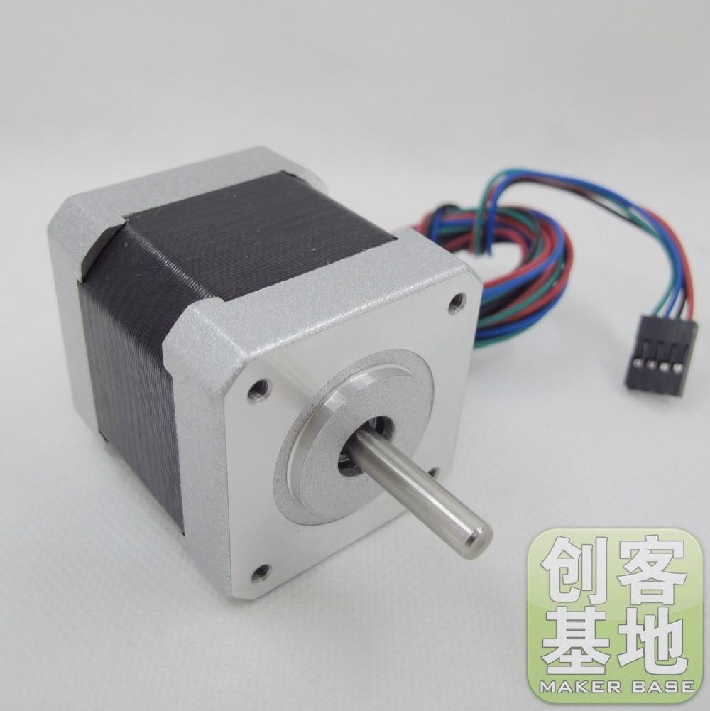 3d printer 42 line stepper motor 1.8 deg . reprap standard(China (Mainland))