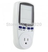 Free shipping!!! Power Monitor Monitoring Energy Socket Ammeter Analyzer LCD Watt Voltage Amps