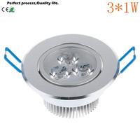 Led Ceiling Lamp 3W Led Bulbs AC110V-220V LED Indoor Lighting Spotlight Down Light Home Led Lighting With DriverFree Shipping
