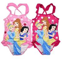Yincui Gorge 1-4 years Children Swimsuit/Kid Beach Wear/Fashion One-Piece Swimwear/Girl Swimming Wear/Princess