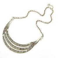 2014 Tibetan Jewelry Vintage Antique Bronze Choker Statement Necklace for Women Metal Fashion Necklaces & Pendants Free Shipping