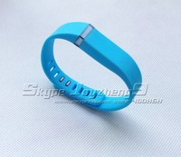 replacement Band for Fitbit Flex Bracelet -Large size  Small size ---LAKE BLUE color