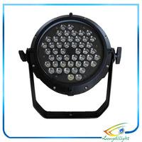 Professional AC 90-240V 48*3W RGB 3in1 LED Effect Light DMX512 8 Channel Par Lights DMX 512 Disco DJ Party Stage Light