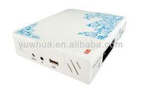 Free shipping!!! Azclass azbox bravissimo xii twin tuner satellite decoder nagra3 for Brazil Market