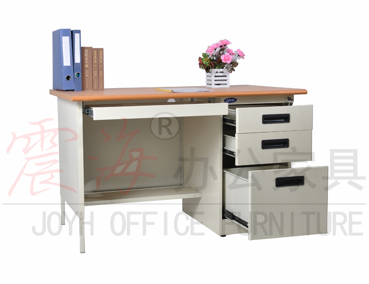 Low Price Steel Office Table/MDF Top Metal Office Desk for Sale/Cumputer Desk/Table(China (Mainland))
