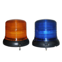 Round Ceiling Lamp Can Used as The School Bus Engineering Vehicle Top LED Flashing Warning Light and  Watchhouse Flashing Light