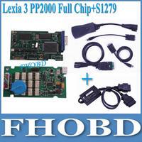 [FHOBD]full chip  for Citroen Peugeot lexia3 lexia 3 V48 pp2000 V25 +S1279 with latest diagbox V7.51 Hongkong Post Shipping