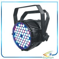 54pcs x 3W RGBW waterproof Flat LED Par Lights With DMX512 Master-Slave Stand,Megar Par Can