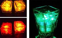 50Pcs/lot Simulation Ice LED Night Light ice cube Decoration,Glowing Ice Cube,lighted Ice Led luminaria decoration