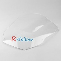 Clean Motorcycle Windshield Windscreen Fit For  ZX12R 2000-2001