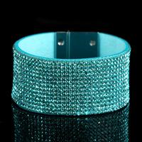 RUDDY  Newest Design Delicate Shining full Rhinestones Bangle & Bracelets 5 Colors